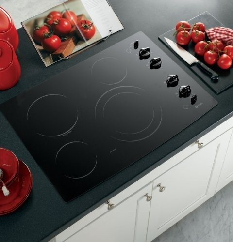 Ge Profile Cleandesign Pp912Bmbb 30 Smoothtop Electric Cooktop - Black front-14544