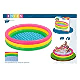 Intex Sunset Glow Baby Pool, Multi Color