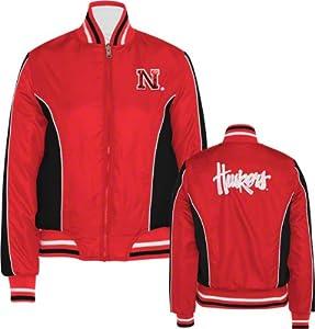 Buy Nebraska Cornhuskers GIII Ladies Reversible Full Zip Jacket by G-III Sports