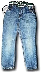 Topchee Kids' Jeans (JNK-11_Blue_2 to 3 Years)