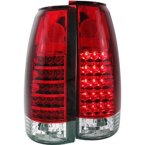 Anzo Usa 311057 Gmc Red/Clear Led Tail Light Assembly - (Sold In Pairs)