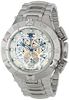 Invicta Men's 12904 Subaqua Analog Display Swiss Quartz Silver Watch