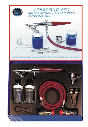 Purchase Paasche H-SET Single Action Siphon Feed Airbrush Set