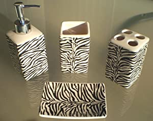 Robot check for Animal print bathroom ideas
