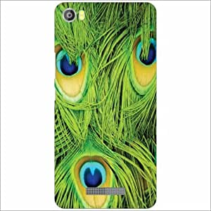 Lava Iris X8 Back Cover - Silicon Feather Desiner Cases