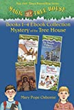 Magic Tree House: Books 1-4 Ebook Collection: Mystery of the Tree House (A Stepping Stone Book Box set)