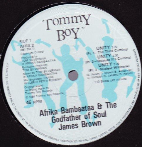 Afrika Bambaataa - Unity ~ Parts 1 - 6 (12