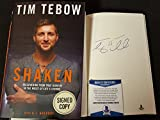 Tim Tebow Signed Book Shaken: Discovering Your True Identity In The Midst Of Life's Storms BAS COA