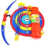 Env Toys Awesome Bow And Arrow Toy Set Includes Target Practice, 3 Darts Archery Crossbow And Dart Pack