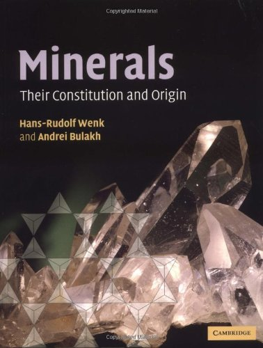 Minerals Paperback: Their Constitution and Origin