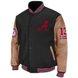 Alabama Crimson Tide NCAA Varsity 2012 Letterman Jacket by Colosseum