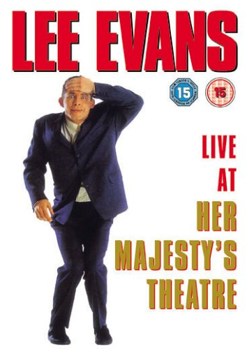 Lee Evans: Live at Her Majesty's Cover