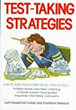 Test Taking Strategies (0809258501) by Kesselman-Turkel, Judi