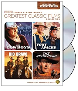 TCM Greatest Classic Films Collection: John Wayne Westerns (The Cowboys / Fort Apache / Rio Bravo / The Searchers) from Turner Classic Movie