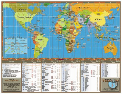 Map of area codes map of area codes 20022003 world telecom map country codes area codes and time zones for gumiabroncs Image collections