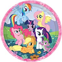 My Little Pony Birthday Party Dinner Plates from Shindigz