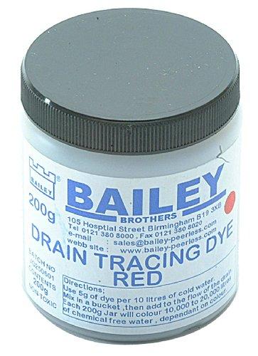 bailey-3590-tracciante-fluorescente-colore-rosso