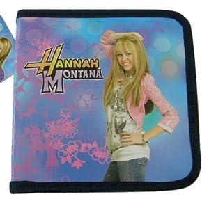 Disney Hannah Montana Pink and Blue CD Wallet