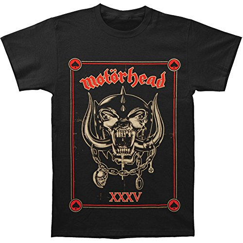 Motorhead Men's Anniversary (Propaganda) T-shirt X-Large Black (Tshirt Motorhead compare prices)