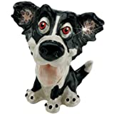 Little Paws Miniatures Trinket Box - Gyp The Border Collie