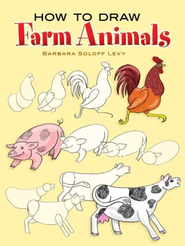 How to Draw Farm Animals (How to Draw (Dover))