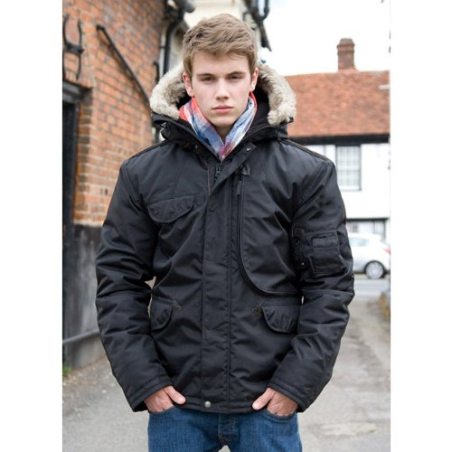 Result Urban Outdoor Wear Mens Waterproof Ultimate Cyclone Parka Jacket