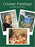 Cezanne Paintings: 24 Full-Color Cards (Card Books)