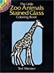 The Little Zoo Animals Stained Glass...