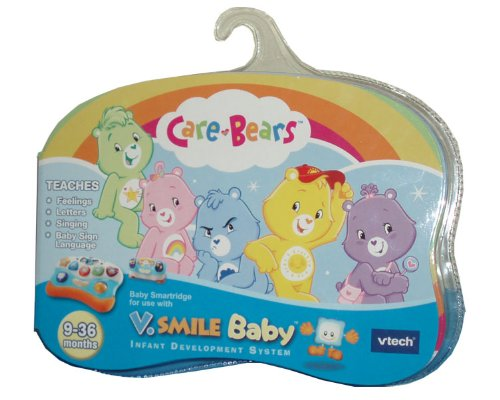 Vtech V.Smile Baby Infant Development System Smartridge - Care Bears That Teaches Feelings, Letters, Singing And Baby Sign Language front-1055920