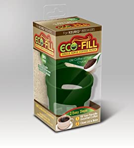 Perfect Pod Eco-Fill Refillable Capsule for K-cup brewers