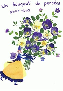 ねこの引出し フランス製妖精のポストカード「あなたへの暖かい思いやり!」