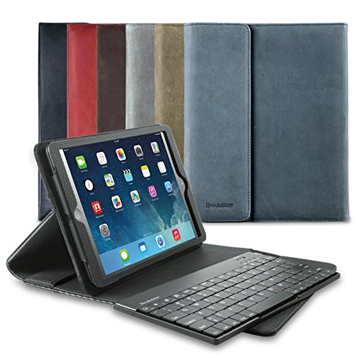 Bluetooth Keyboard Pro Leather Case For Ipad Air Tablets