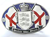 United we stand,Patriotic belt buckle