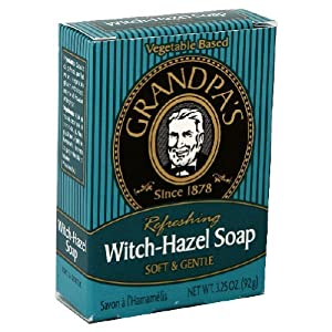 Grandpa's Witch-Hazel Soap Soft and Gentle, 3.25 Ounce