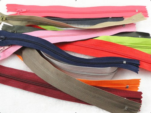Read About YAKA 48pcs Nylon Coil Zippers Tailor Sewer Craft 9 Inch Crafter's Special Upick