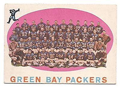 GREEN BAY PACKERS 1959 Checklist Football Card #46