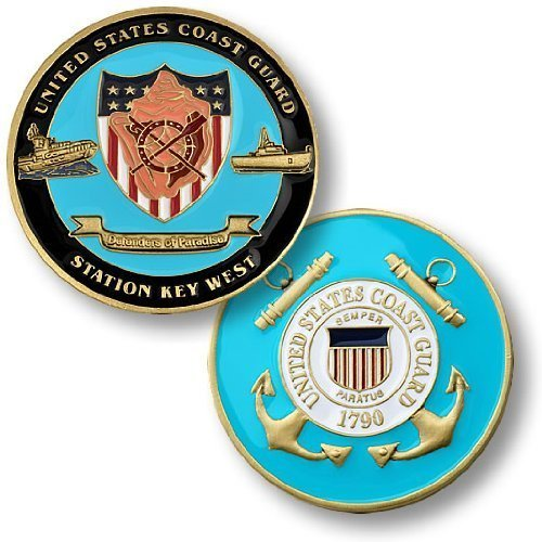 USCG Station Key West Challenge Coin