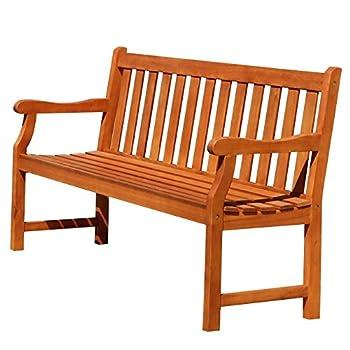 Baltic Eco-friendly 5-foot Outdoor Wood Garden Bench