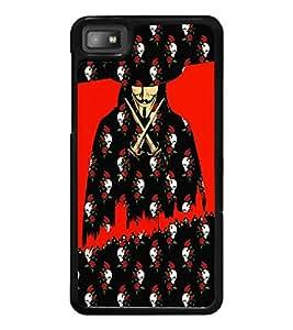 PrintDhaba Vendetta D-3508 Back Case Cover for BLACKBERRY Z10 (Multi-Coloured)
