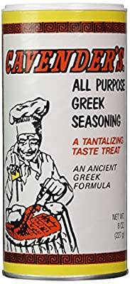 Cavender's, All Purpose Greek Seasoning, 8 oz (227 g) by Cavender's