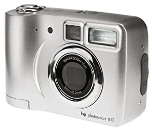 HP PS812 4MP Digital Camera w/ 3x Optical Zoom by Hewlett Packard