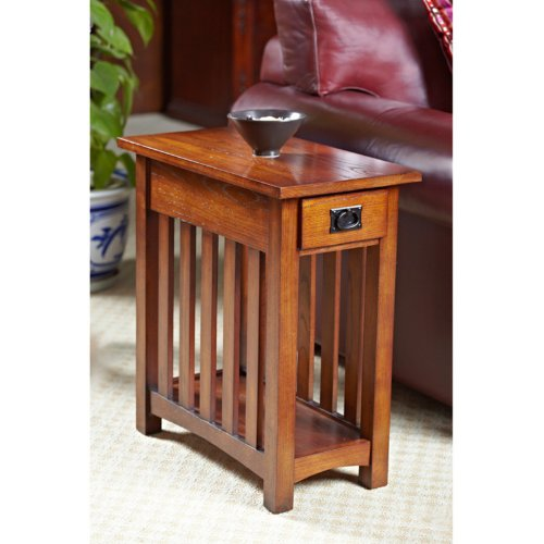Cheap Leick Solid Ash Mission Chairside End Table (B0073NROKQ)