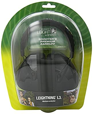 Howard Leight R-03318 Leightning L3 Shooter's Premium Earmuff