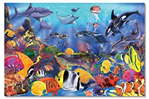 Melissa & Doug Underwater 48-Piece Floor Puzzle from Melissa & Doug