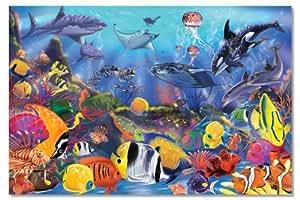 Melissa & Doug Underwater 48-Piece Floor Puzzle