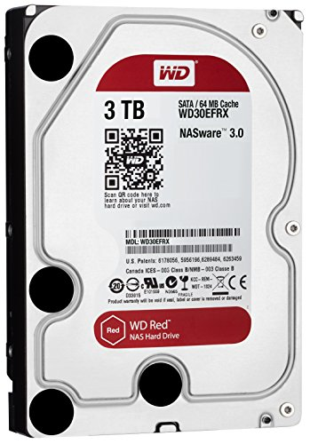 WD Red NAS (WD30EFRX) 3TB Internal Hard Disk