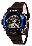 A Avon Sports Digital Black Dial Women's & Kids Watch - 1001346