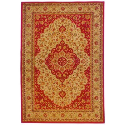 Oriental Weavers Sphinx Allure Traditional Red Rug - ALL-011D1 (Size: 3' 10