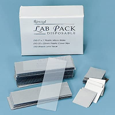 Dispos Lab Pack:50 Slides/Plast Covers/Lens Paper from Carolina Biological Supply Company