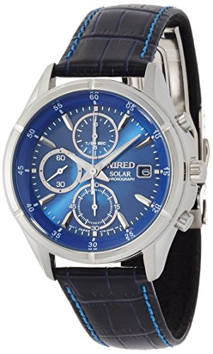 SEIKO WIRED セイコー ワイアード ニュースタンダード NEW STANDARD ソーラー クロノグラフ メンズ 腕時計 AGAD059